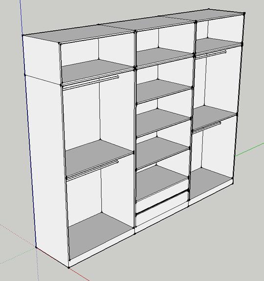 Fusters22 armarios a medida armarios armarios - Distribuciones de armarios ...